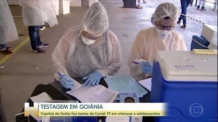 Goiânia amplia testes na cidade