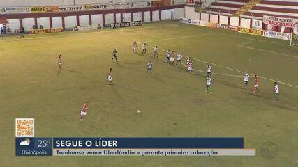 Tombense vence Uberlândia e termina primeira fase como líder do Mineiro