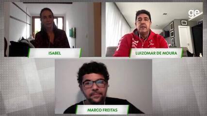 Isabel e Luizomar relembram Flamengo x Vasco na final da Superliga Feminina de 2000/01
