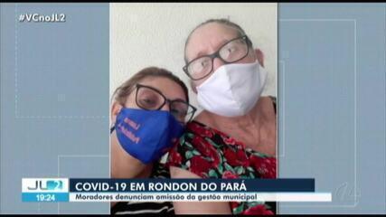 Pacientes com suspeitas de Covid-19 não conseguem atendimento em Rondon do Pará