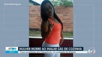 Mulher morre após inalar gás de cozinha em Caiapônia