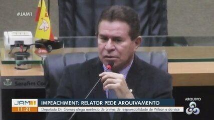 Impeachment: Relator pede arquivamento de processo