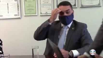 Veja trechos do depoimento de Flávio Bolsonaro no inquérito sobre suposto vazamento da PF