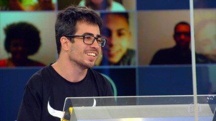 Raphael fala sobre paralisia e sua história de superação no 'Quem Quer Ser Um Milionário'