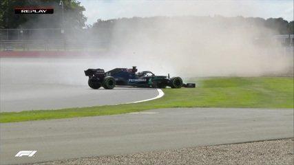 Lewis Hamilton roda no Q2