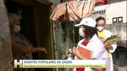 No Recife, uma parceria forma agentes populares de saúde para combater a Covid-19