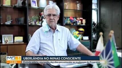 Covid-19: Prefeitura de Uberlândia adere ao programa 'Minas Consciente'