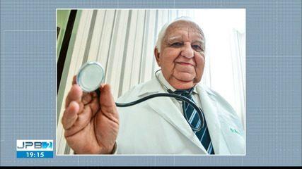 Marco Aurélio Barros, médico paraibano, morre aos 90 anos após contrair Covid-19