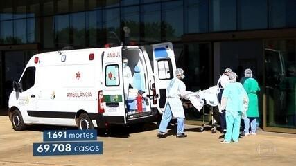 Goiás enfrenta disparada no número de casos e mortes por coronavírus
