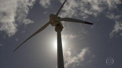 Geração de energia eólica bate recordes no Nordeste