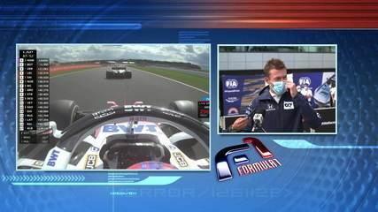 Kvyat fala sobre o acidente que o tirou do GP da Inglaterra