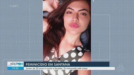 Jovem de 20 anos é assassinada a facadas pelo ex-namorado em Santana; ele foi preso