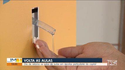Escolas particulares retomam as aulas no Maranhão