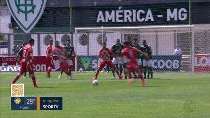 Com gol de João Paulo, Tombense vence Caldense no primeiro jogo da semifinal do Mineiro