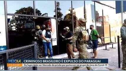 Criminoso brasileiro é expulso do Paraguai