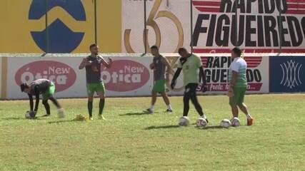 Confira como foi o último treino do Sousa antes da semifinal do Campeonato Paraibano