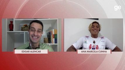Chamada Olímpica: Edgar Alencar entrevista Ana Marcela Cunha
