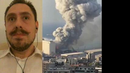 Responsável pela embaixada do Brasil no Líbano fala sobre explosão