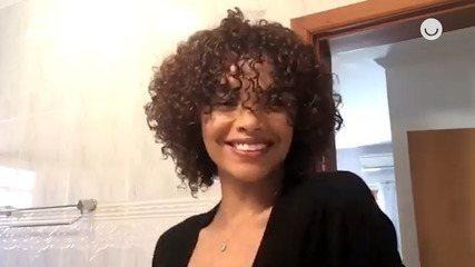 Lucy Ramos ensina como cuidar da franja em cabelos cacheados e crespos