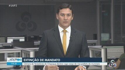 Vice-prefeito de Oiapoque tem cargo extinto pela Câmara após denúncia de dupla função