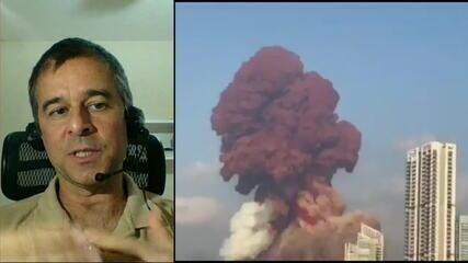 Professor da explosão de Beirute: