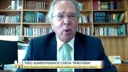 Paulo Guedes diz que não vai aumentar a carga de impostos