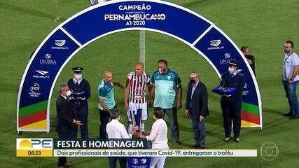 Salgueiro faz história como primeiro time do interior a conquistar Campeonato Pernambucano