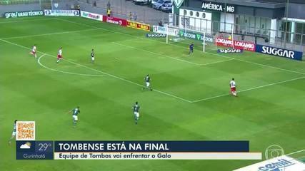 Tombense passa pela Caldense e encara o Atlético-MG na final do Mineiro