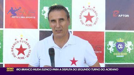 Com reforço ex-América-RJ, técnico quer dar segurança à defesa do Rio Branco-AC