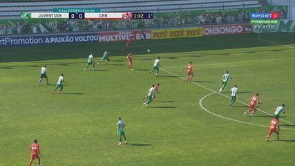 Melhores momentos: Juventude 2 x 1 CRB pela 1ª rodada do Brasileirão Série B 2020