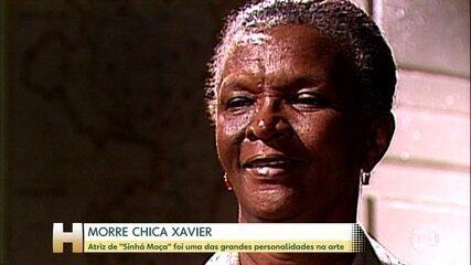 Atriz Chica Xavier morre aos 88 anos no Rio