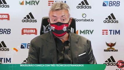 Brasileirão começa com três técnicos estrangeiros