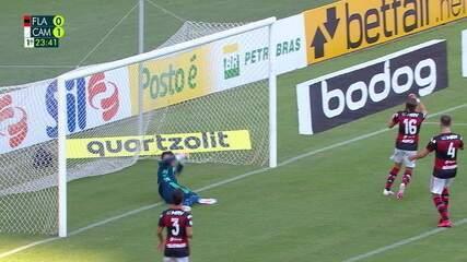 Gol do Flamengo 0 x 1 Atlético-MG pela 1ª rodada do Brasileirão 2020