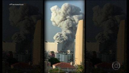 'Sobreviver foi um milagre', diz libanês que viu de perto a explosão em Beirute