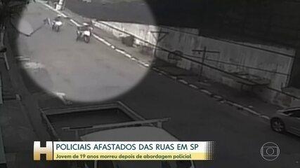 Policiais Militares foram afastados das ruas em São Paulo