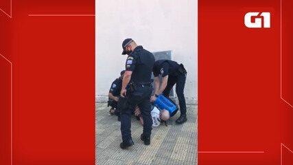 Vídeo mostra ação da Guarda Civil Municipal em São José dos Campos