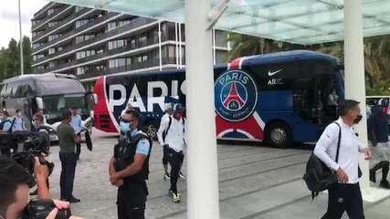 PSG chega a Lisboa para disputa da Super Champions