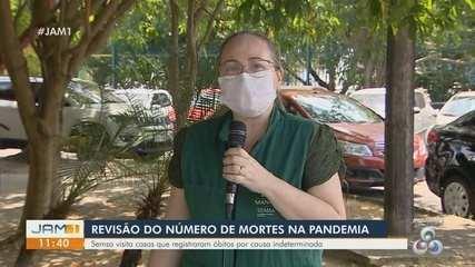 Mortes por causa indeterminada ocorridas no pico da pandemia são revisadas no AM