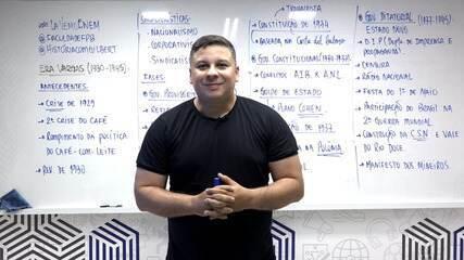 Lá Vem o Enem 2020: professor de história da PB apresenta aula virtual sobre a Era Vargas