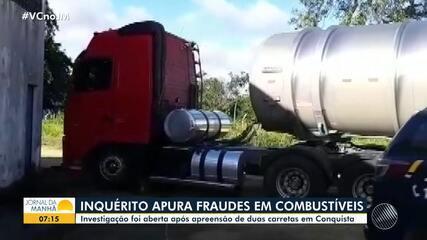 Inquérito apura fraudes na comercialização e transporte de combustíveis, no sudoeste
