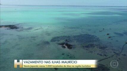 Vazamento nas ilhas Mauricio foi contido, diz governo