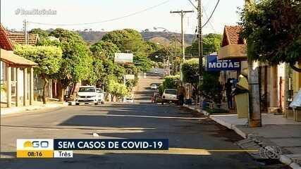 Goiás tem três cidades sem nenhum caso confirmado de Covid-19