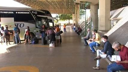 Pandemia afeta frequência de passageiros em viagens intermunicipais