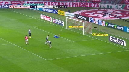 Melhores momentos de Internacional 2 x 0 Santos pela 2ª rodada do Campeonato Brasileiro