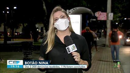 Botão Nina recebe 2.200 denúncias, mas apenas 11% são concluídas