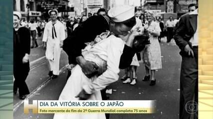 Segunda Guerra Mundial terminava há 75 anos