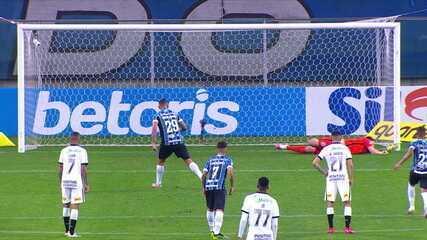 Pena! Diego Souza acerta canto esquerdo da Casio e manda, aos 32 'por 2T