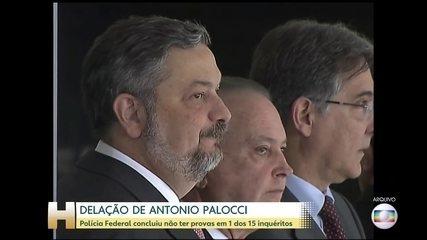 PF conclui não haver provas de trecho de delação de Palocci que envolve Lula e BTG