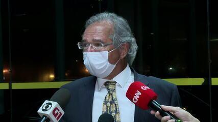 Após reunião com Bolsonaro, Paulo Guedes diz que governo não vai furar teto