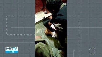 Bebê de 11 dias fica sem respirar e é socorrida por policiais militares em Montes Claros
